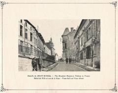 Immeuble - Français:   présenté au musée de st-Mihiel.