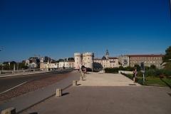 Porte Chaussée (porte et passage entre deux tours) -  Porte Chaussée (Verdun)