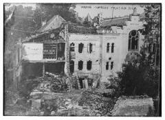 Synagogue et ancienne maison du rabbin - English: Title: Verdun - Laurent printing shop Abstract/medium: 1 negative: glass; 5 x 7 in. or smaller.