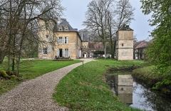 Domaine de Preisch - English: Preisch Castle in the commune of Basse-Rentgen in the department Moselle in northeastern France.
