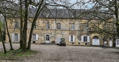 Domaine de Preisch - English: Preisch Castle from front, commune of Basse-Rentgen, Moselle department, France.