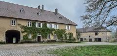 Domaine de Preisch - English: Maison d'habitation au domaine de Preisch, commune of Basse-Rentgen in the Moselle depatment in France.