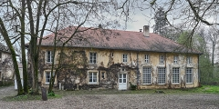 Domaine de Preisch - English: House at Preisch, commune of Basse-Rentgen, Moselle department, France.