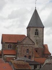 Abbaye - Français:   Hesse (Moselle) église