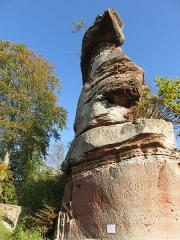Ruines du château de Falkenstein -  Elsaß-Tour 2019-10-31 12 Chateau du Falkenstein