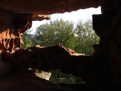 Ruines du château de Falkenstein -  Elsaß-Tour 2019-10-31 18 Chateau du Falkenstein