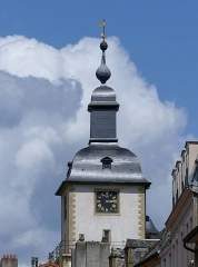 Beffroi - English: Sight of the top of Thionville belfry, in Moselle, France.