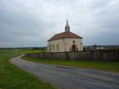 Chapelle du cimetière dite Chapelle Sainte-Libaire - English: Saint-Libaire chapel, Grand, Vosges, France.