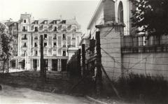 Station thermale : ensemble hôtelier - English: Vittel internment camp, France.