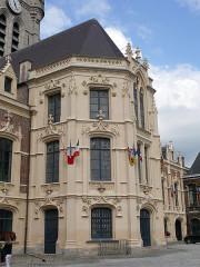 Hôtel de ville et beffroi - English:   Douai belfry (Nord, Hauts-de-France, France).