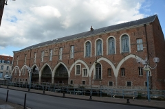 Palais de Justice - English: Douai appellate court (Nord, Hauts-de-France, France).