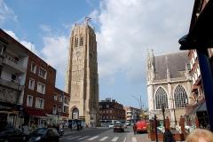 Eglise Saint-Eloi - Beffroi, dans le temps clocher de l'église Saint Eloi à Dunkerque