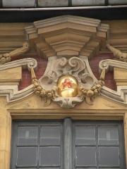 Vieille bourse du commerce - Macarons sponsorisés du palais de la Vieille Bourse de Lille.