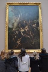 Palais des Beaux-Arts - English: Un groupe de groupies