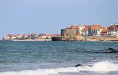 Fort Vauban dit Fort Mahon - English: Ambleteuse, village and Fort Mahon