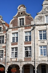 Immeuble - English: Arras, immeuble, 40 Grand-Place.