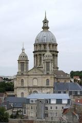 Ancienne cathédrale Notre-Dame - Deutsch: Kathedrale Notre-Dame in Boulogne, gesehen vom Belfried.