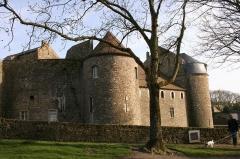 Château d'Aumont -  Boulogne-sur-Mer, département du Pas-de-Calais, France, the castle