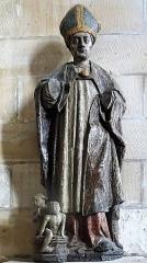 Eglise Saint-Sauveur - Français:   Église Saint-Sauveur d\'Ham-en-Artois, statue de Saint Nicolas. Pas-de-Calais, France.