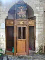 Eglise Saint-Sauveur - Église Saint-Sauveur d'Ham-en-Artois,(intérieur). Pas-de-Calais, France.