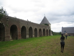 Citadelle -  Chemin de ronde de la citadelle de Montreuil-sur-Mer