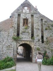 Citadelle -  Entrré de la citadelle de Montreuil-sur-Mer