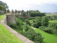 Citadelle -  rempart de la ville de Montreuil-sur-Mer