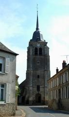 Eglise Saint-Martin -  Pas-en-Artois (Pas-de-Calais, France).   L'église.