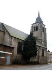 Eglise Saint-Martin -  Pas-en-Artois (Pas-de-Calais, France) -  L'église.   .