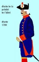 Maison dite de la prévoté - Deutsch: Uniform der Gardes de la prévôté.
