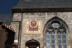 Maison dite de la prévoté - Deutsch: Ehemaliges Augustiner-Chorherrenstift St. Peter und Johannes der Täufer, später Königliches Schloss Berchtesgaden und Museum, in Berchtesgaden im Landkreis Berchtesgadener Land (Bayern/Deutschland, Sonnenuhr