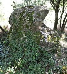 Menhir de Briangault - Français:   Menhir de Briangault à Sion-les-Mines (44).