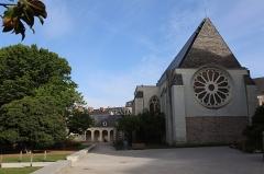 Abbaye Toussaint - Français:   Extérieur de l\'abbatiale Toussaint d\'Angers (49). Chevet.