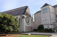 Abbaye Toussaint - Français:   Extérieur de l\'abbatiale Toussaint d\'Angers (49).