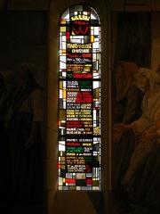 Eglise -  Martyrologe de la paroisse de Chanzeaux oeuvre personnelle 18/03/2007  Jean-Michel Robineau