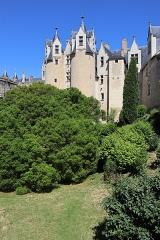 Château - Extérieur du château de Montreuil-Bellay (49).