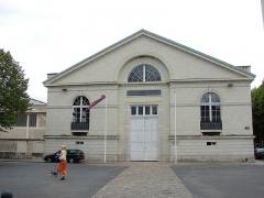 Ecole de Cavalerie de Saumur, quartier Chardonnet -  Manège des écuyers, École de cavalerie de Saumur (Pays de la Loire, France).