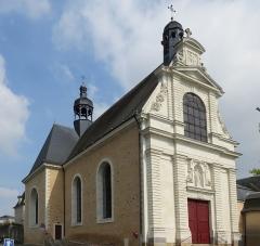 Eglise de la Trinité - Français:   Église de la Trinité, Château-Gontier, Mayenne.