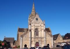 Eglise Notre-Dame d'Avesnière - Français:   Laval (Pays de la Loire, France). L\'église Notre-Dame d\'Avesnières.