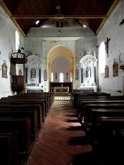 Eglise paroissiale Notre-Dame - Français:   Vue intérieur de l\'église Notre-Dame de Cossé-en-Champagne (53).