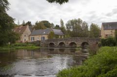Vieux Pont sur la Vègre - English: Vieux pont