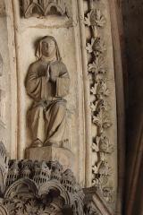 Abbaye de la Couture - Portail occidental de l'église Notre-Dame-de-la-Couture au Mans (72). 3ème voussure.