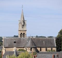 Eglise Notre-Dame-du-Pré - Extérieur de l'église Notre-Dame-du-Pré au mans (72).