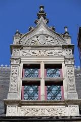 Maison Renaissance - Français:   Maison de la Tourelle au Mans (72) Détail.