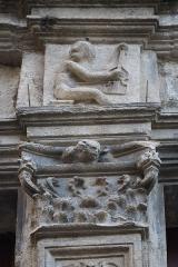 Maison dite d'Adam et Eve - Extérieur de la Maison d'Adam et Ève au Mans (72).