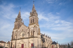 Eglise romane - English: Les Essarts