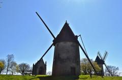 Moulins à vent du Mont des Alouettes - English: Les Herbiers