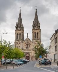 Ancienne église abbatiale Notre-Dame du Voeu - English:   West façade of Notre-Dame du Vœu.