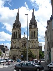 Ancienne église abbatiale Notre-Dame du Voeu -  Eglise de Notre Dame du Voeu; Cherbourg-Octeville, Lower Normandy, France