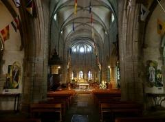 Eglise Notre-Dame - English:   Inside sight of Notre-Dame du Cap Lihou church, in Granville, Normandy, France.